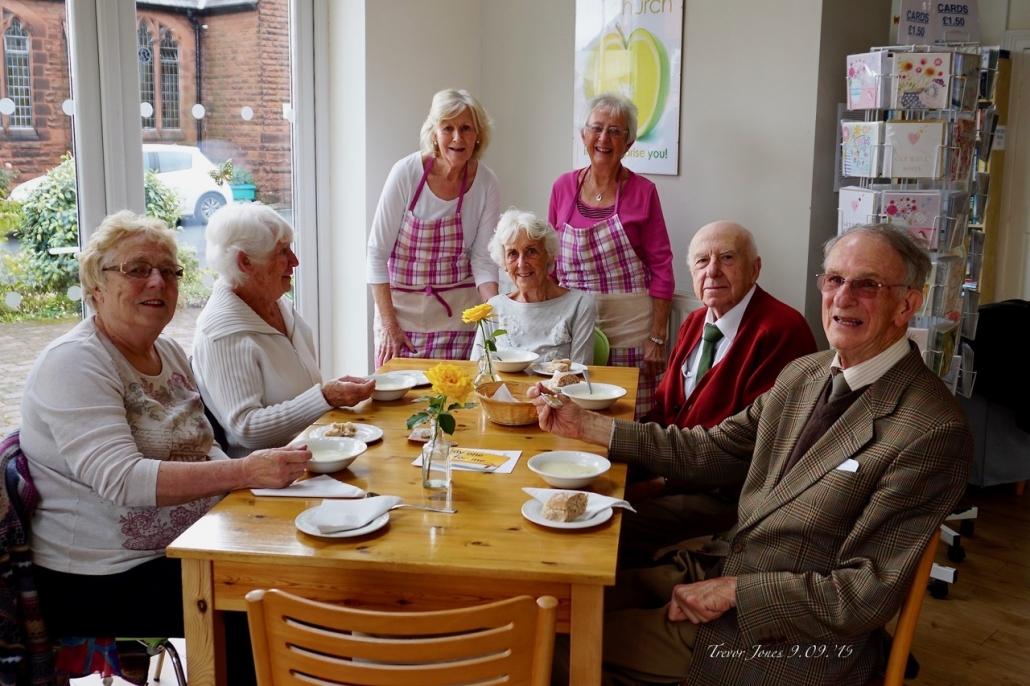 Photo of members of the Heswall Methodist Church Friendship Club