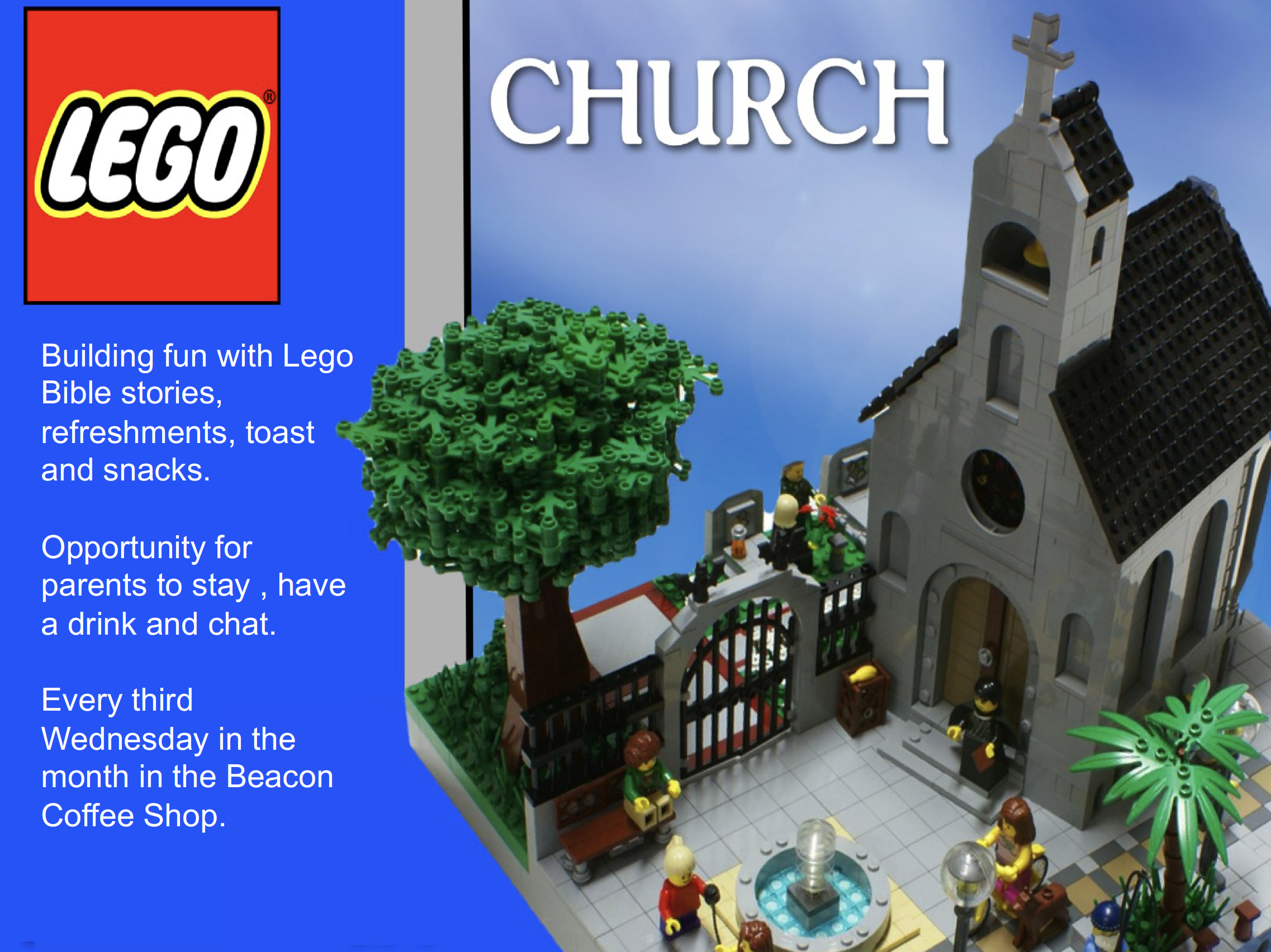 Lego Church - Heswall Methodist Church