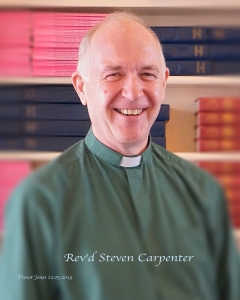 Heswall Methodist Church Minister Steve Carpenter