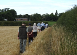 Heswall Methodist Church Walking Group